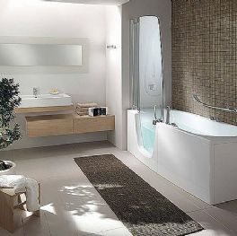 Walk-in tub